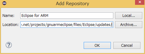NUCLEO-F401RE STM32のmbed開発環境をEclipse+GCC+OpenOCDで構築